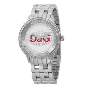 Dolce & Gabbana crystal watch